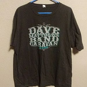 Dave matthews band tour tee